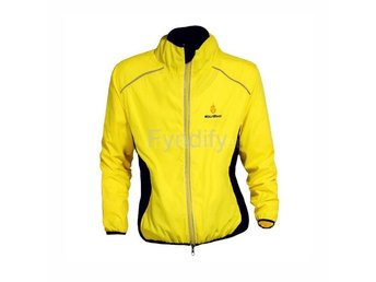 Cykeljacka Outdoor Cycling Jersey Gul M Breathable