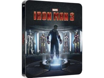 Iron Man 3 3D (+2D) - Exclusive Lenticular Edition Steelbook