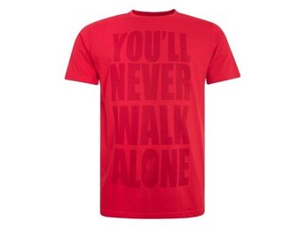 Liverpool T-shirt YNWA Text Röd XL