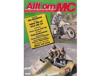 Allt Om Mc 1983-2 BMW R-80 ST Stor Test..Husqvarna 500 CR