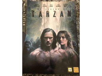 The legend of TARZAN (2016) m SKARSGÅRD // sedd en gång =nyskick