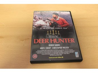 Dvd-film: Deer hunter (Reobert DeNiro, Meryl Streep, Christopher Walken)