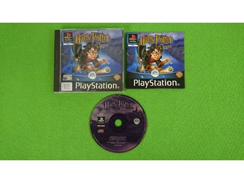 Harry Potter och de Vises Sten Svenska versionen Playstation PSone ps1