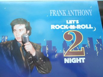 LP FRANK ANTHONY LET´S ROCK N ROLL 2 NIGHT