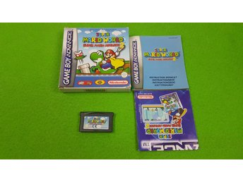 Mario World Super Mario Advance SVENSK UTGÅVA Gameboy Advance Nintendo GBA