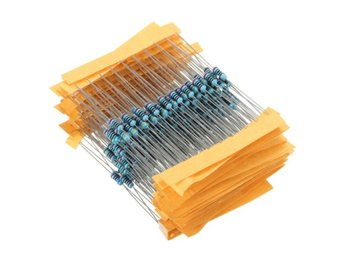 300Pcs 1% 1/4W Metal Film Resistor Resistance 30 Values A...