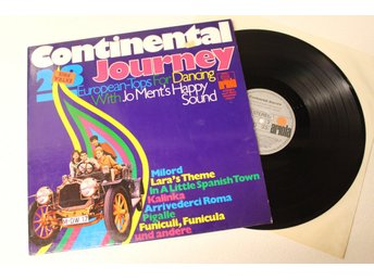 Continental Journey 28 European - Tops For Dancing With Jo Ment's Happy Sound