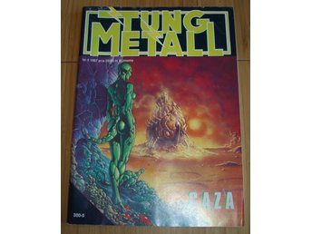 TUNG METALL NR 5 1987 Fint skick