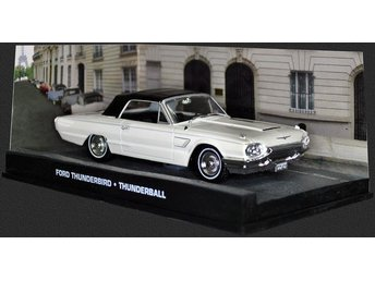 James Bond Collection - 1/43 scale - Ford Thunderbird - Goldfinger