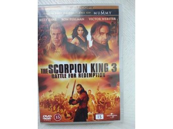 Dvd-film:Äventyr/Action:The Scorpion King 3: - Nora - Dvd-film:Äventyr/Action:The Scorpion King 3: - Nora
