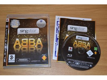Singstar ABBA (PS3) Playstation 3 Komplett Nyskick