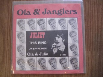 "Ola & Janglers - Juliet/This Ring 7"" singel"