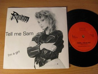 Robin. Tell me Sam. 1990 Positive Rec, Presentations brev. Daterad Audiodisc.