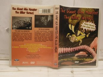 THE GIANT GILA MONSTER/THE KILLERSHREWS - EJ SVENSK TEXT