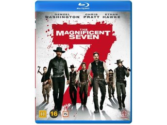Magnificent Seven, The  2016  132 Min  Blu-ray  Svtxt  Ny