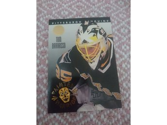 Leaf 1993/94 Painted Warriors insert - Tom Barrasso