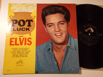 ELVIS PRESLEY - Pot Luck, LP RCA Victor USA 1962