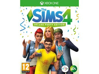 The Sims 4 Deluxe Party Edition - Helt nytt till Xbox One!!! REA (Ord. 899kr)