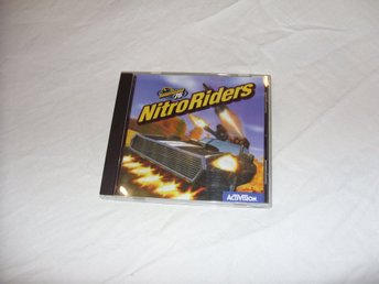 Interstate 76 NitroRiders Activision PC CD ROM Engelsk bil racing action 3dfx