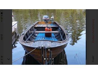 begagnade träbåtar säljes