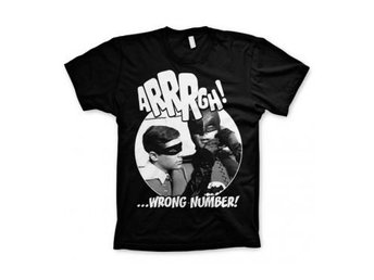 Batman T-shirt Wrong Number Svart M