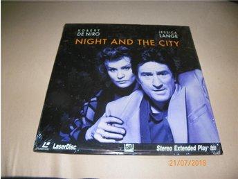 Night and the City - 1st Laserdisc - Forshaga - Night and the City - 1st Laserdisc - Forshaga