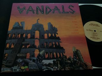 THE VANDALS when in Rome do as the vandals LP -85 US PUNK hardcore