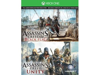Assassins Creed: Unity Black Flag - Xbox One - Produktkod Xbox Live Store - Vällingby - Assassins Creed: Unity Black Flag - Xbox One - Produktkod Xbox Live Store - Vällingby