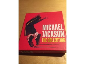 Michael jackson the collection samlingsbox 5 cd skivor