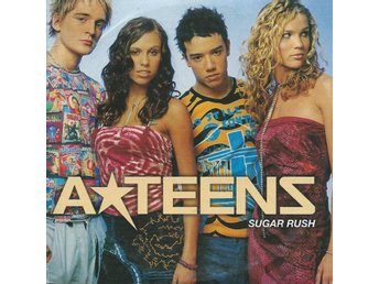 A-TEENS - SUGAR RUSH  (CD MAXI/SINGLE )