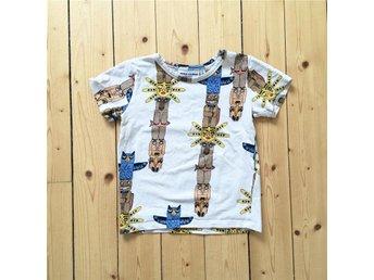 Mini Rodini Totem T-shirt 92/98 - Karlsborg - Mini Rodini Totem T-shirt 92/98 - Karlsborg