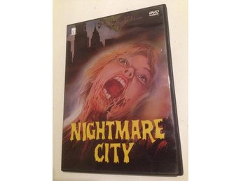 Dvd: Nightmare City - collectors edition - Umberto Lenzi - 80 tals skräck