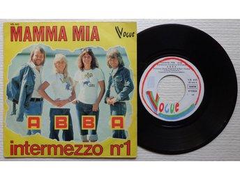 "ABBA 'Mamma Mia' 1975 Belgian 7"" - Bröndby - ABBA 'Mamma Mia' 1975 Belgian 7"" - Bröndby"
