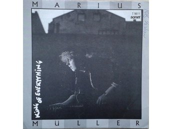 "Marius Müller title* My Town/King Of Everything* Pop,Rock 7"" Norway"