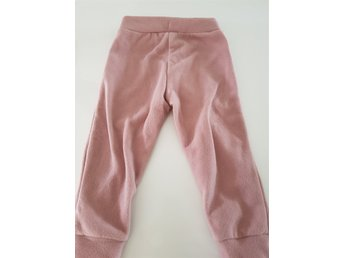 Mini rodini fleece byxor rosa stl 80/86