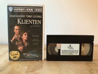 Klienten - Susan Sarandon, Tommy Lee Jones - VHS