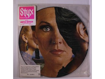 STYX 'Pieces Of Eight' 1978 US promo picture-disc LP