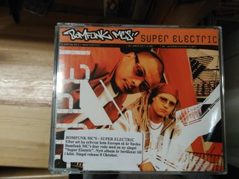Bomfunk MC's - Super Electric, CD