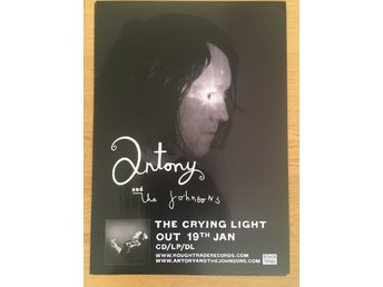 Poster Antony and the Johnsons The Crying Light
