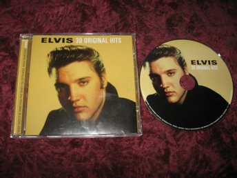 ELVIS - 30 ORIGINAL HITS CD SKIVA