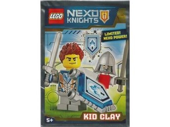 Lego - Figurer Nexo Knights KID CLAY  Limited Edition FP