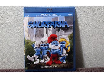 SMURFARNA   BLU-RAY + DVD