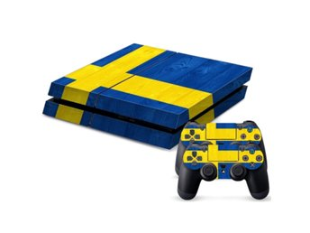 PS4 Skins Svenska Flaggan