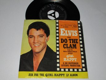 ELVIS PRESLEY SINGEL DO THE CLAM
