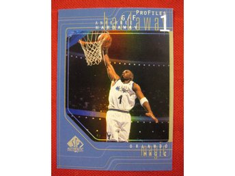 ANFERNEE HARDAWAY - PROFILES - 1997-98 SP AUTHENTIC - ORLANDO MAGIC - BASKET