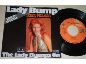 Penny McLean 45/PS Lady bump 1975 VG++