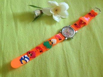 NY barn klocka, med winx club och Bloom i 3D, Orange - Påarp - NY barn klocka, med winx club och Bloom i 3D, Orange - Påarp