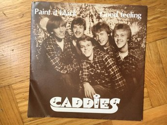 CADDIES...7'...PAINT IT BLACK ( ROLLING STONES )