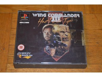 Wing Commander III 3 Playstation PS1 PSOne