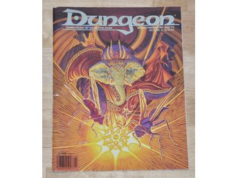 RARE AD&D/D&D Dungeon Magazine #15 (Jan/Feb 1989) 64 sidor.